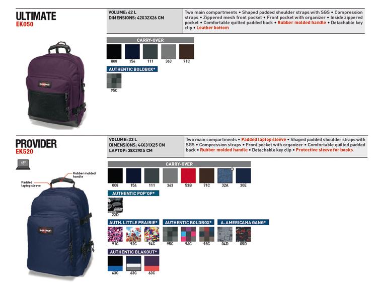eastpak rucksack getter carry over january intro. Black Bedroom Furniture Sets. Home Design Ideas